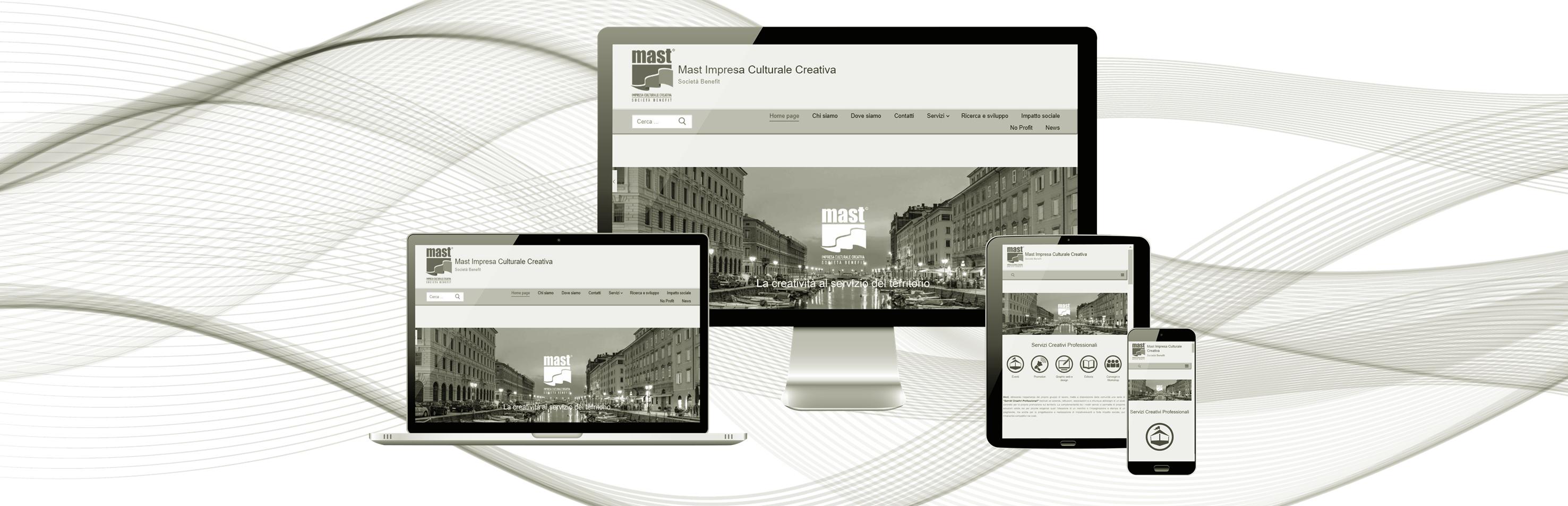 Immagine copertina pagina Graphic e web design Mast
