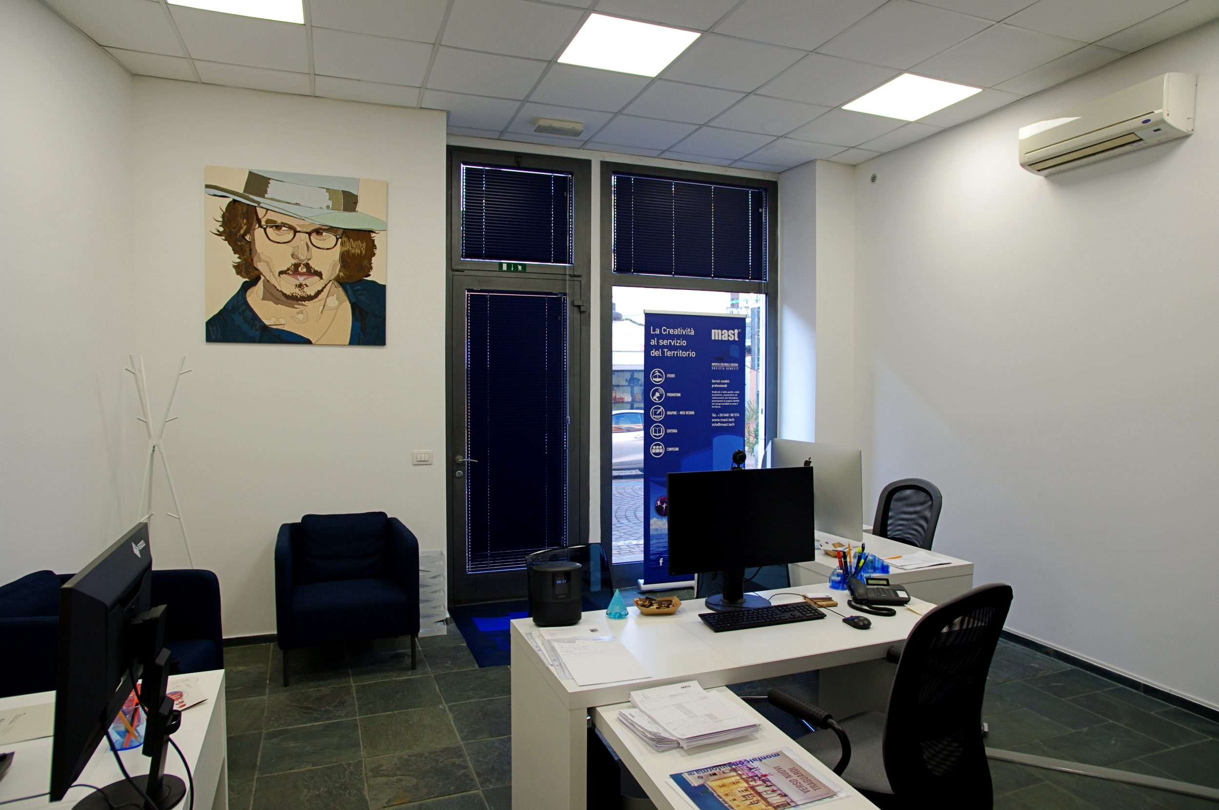 Vista uffici sede Mast Icc Sb srl
